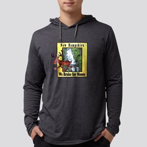 New Hampshire , We Brake for Long Sleeve T-Shirt
