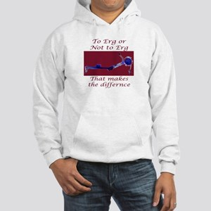 Ergs and other rowing images Hooded Sweatshirt