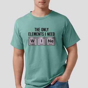 Wine Chemistry Elements T-Shirt