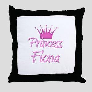 Princess Fiona Throw Pillow