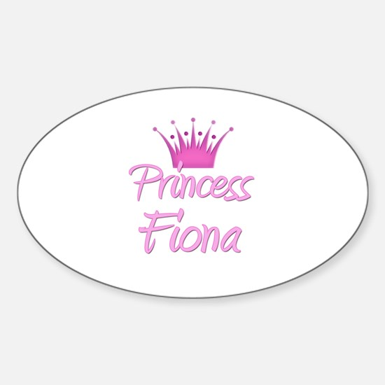 Princess Fiona Oval Decal