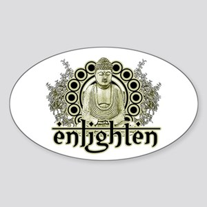 """Buddha """"Enlighten"""" Sticker"""