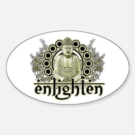 """Buddha """"Enlighten"""" Decal"""