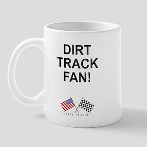 Dirt Track Fan Mug