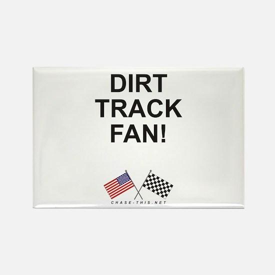 Dirt Track Fan Rectangle Magnet
