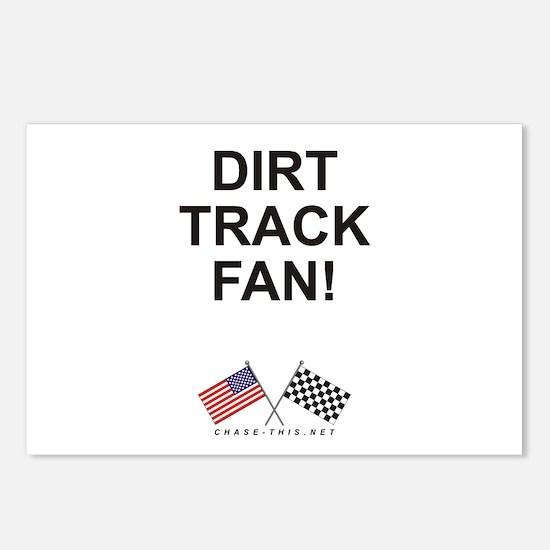 Dirt Track Fan Postcards (Package of 8)