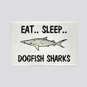 Eat ... Sleep ... DOGFISH SHARKS Rectangle Magnet