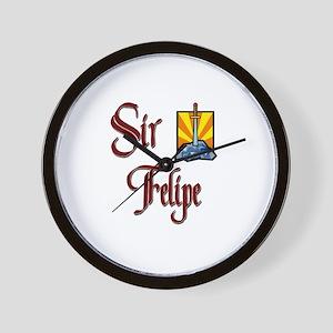 Sir Felipe Wall Clock