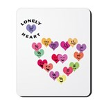 LONELY HEART Mousepad