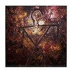 Hawaiian Ancient Design Tile Coaster
