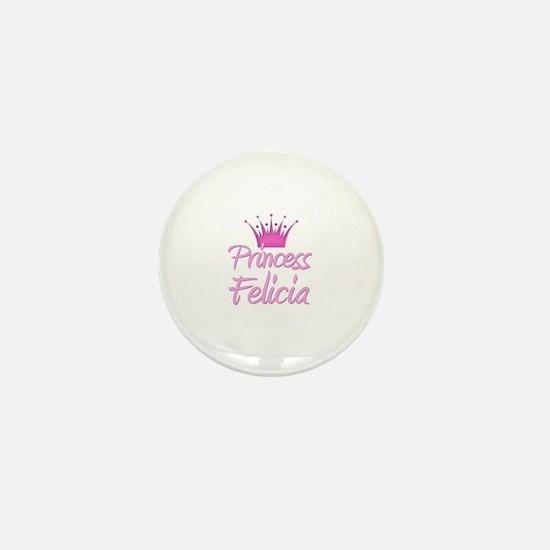 Princess Felicia Mini Button