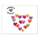 LONELY HEART Small Poster
