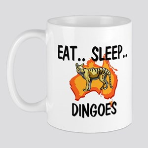 Eat ... Sleep ... DINGOES Mug