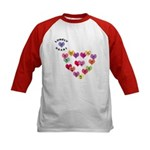 LONELY HEART Kids Baseball Jersey