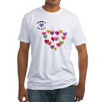 LONELY HEART Fitted T-Shirt