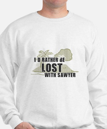 I'd Rather be Lost... Sawyer Sweatshirt