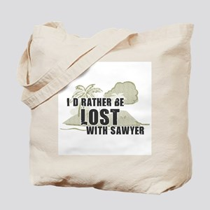 I'd Rather be Lost... Sawyer Tote Bag