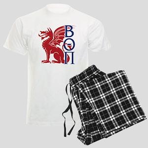 Beta Theta Pi Dragon Letters Pajamas