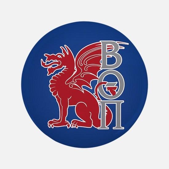 Beta Theta Pi Dragon Letters Button