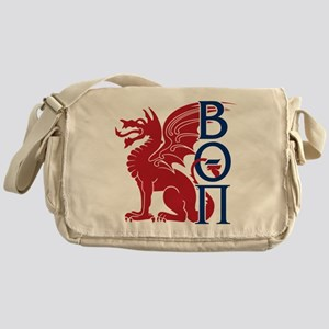 Beta Theta Pi Dragon Letters Messenger Bag