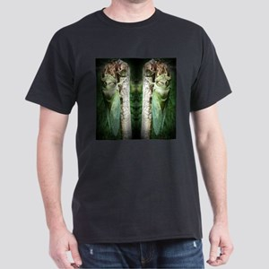 God's Work: Two Cicadas Dark T-Shirt