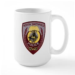 N Smithfield PD K9 Large Mug