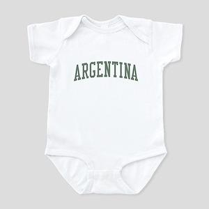 Argentina Green Infant Bodysuit