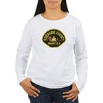 Riverside Sheriff K9 Women's Long Sleeve T-Shirt