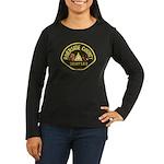 Riverside Sheriff K9 Women's Long Sleeve Dark T-Sh