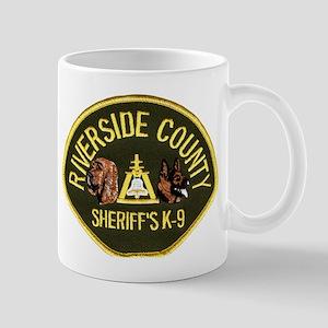 Riverside Sheriff K9 Mug