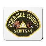 Riverside Sheriff K9 Mousepad