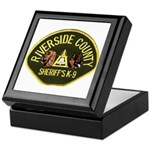 Riverside Sheriff K9 Keepsake Box