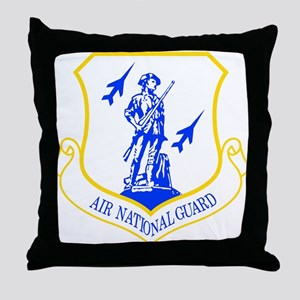 Air National Guard Throw Pillow