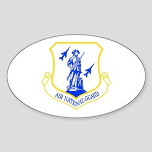 Air National Guard Oval Sticker