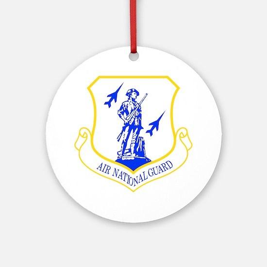 Air National Guard Ornament (Round)