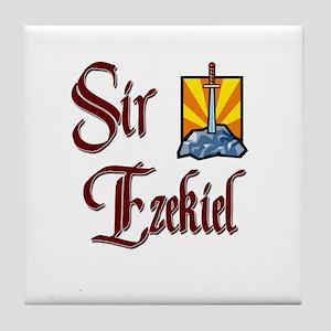 Sir Ezekiel Tile Coaster
