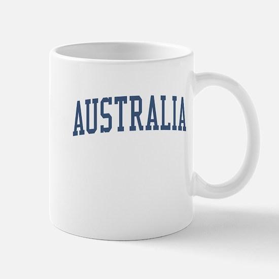 Australia Blue Mug