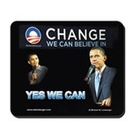 Change We Can Believe In, Mousepad