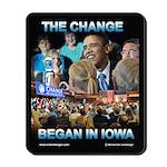 The Change Began in Iowa, Mousepad