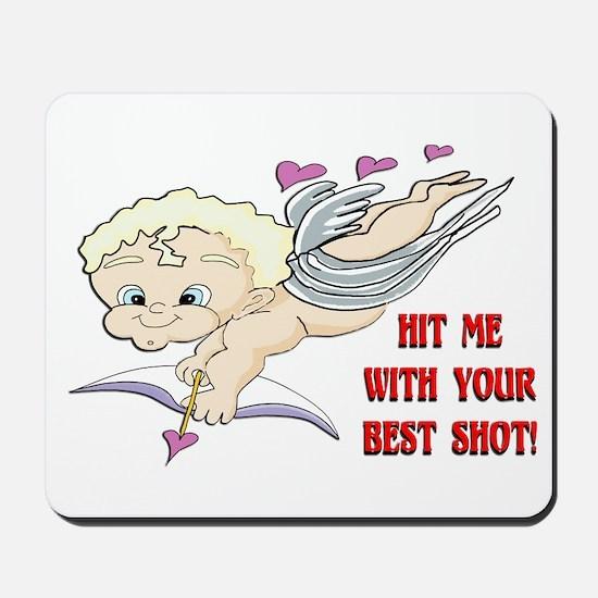 Valentine's Cupid Mousepad