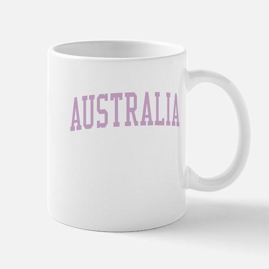 Australia Pink Mug