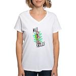 Sexy Mad Skills Women's V-Neck T-Shirt