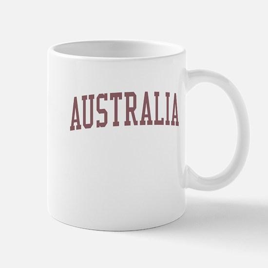 Australia Red Mug