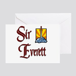Sir Everett Greeting Card