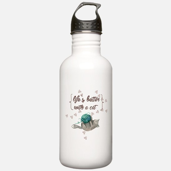 life is better with a Water Bottle