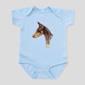 Doberman Pinscher, Dobie dog Infant Bodysuit