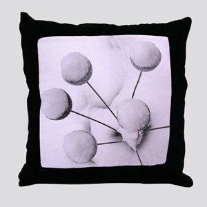 Snow Graphic Throw Pillow