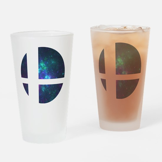 Cute Retro game Drinking Glass