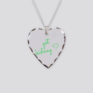 Got Kidney? Necklace Heart Charm