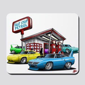 Superbird Gas station scene Mousepad